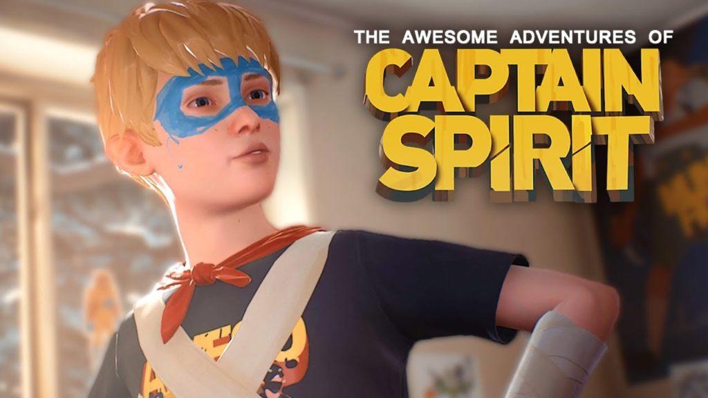 Image promotionnelle pour Captain Spirit.